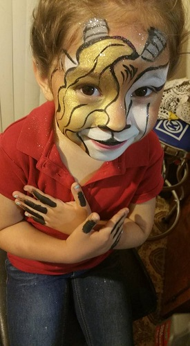 "Texas has an amazing Face Painter: ""Face Painting by Maribel"""